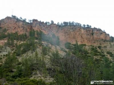 Valle Cabriel-Manchuela conquense;barranco de la hoz calomarde paso de mahoma doñana